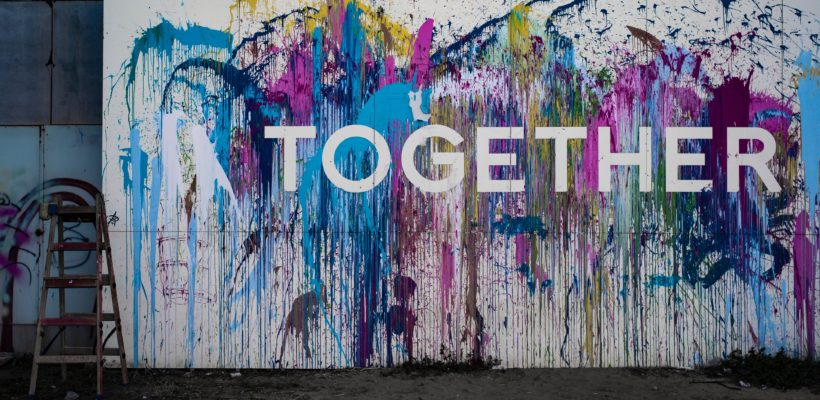 Together graffiti